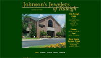 Web Design for Johnsons Jewelers